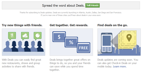 Facebook Deals - The GroupOn Killer! - Riding with the window down