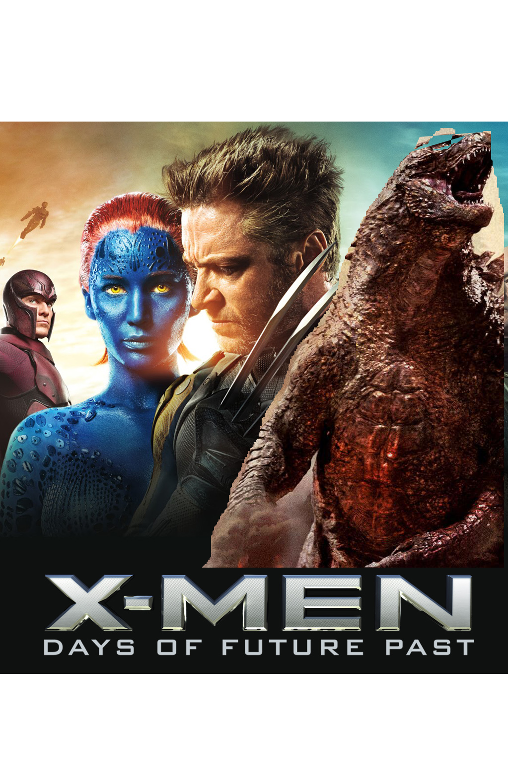 X-Men: Days of Godzilla Present