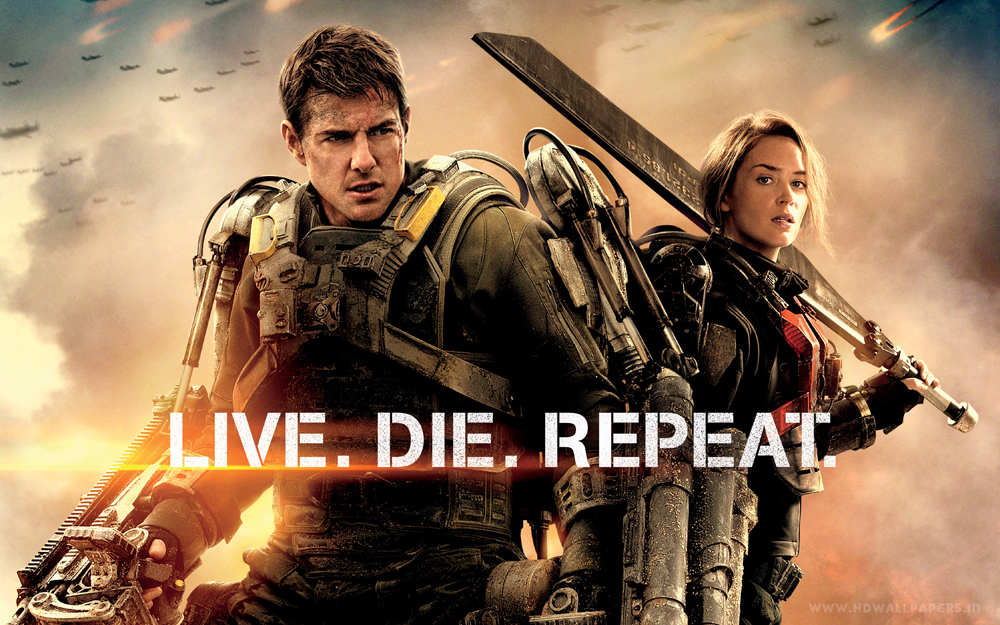 tom cruise, emily blunt, edge of tomorrow,