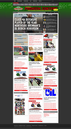 Lone Star Gridiron relaunch
