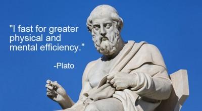 Plato fasting
