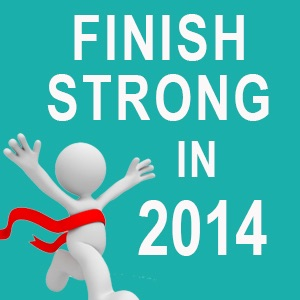 Finish strong 2014