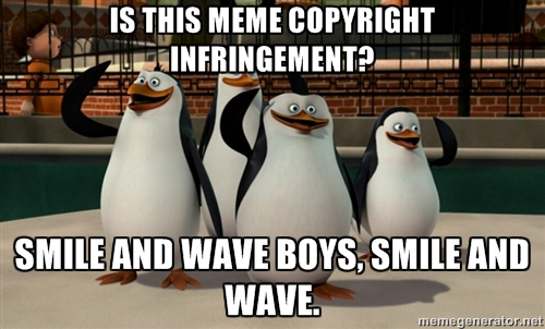 copyright infringement meme