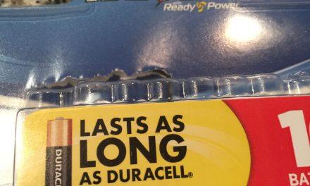Duracell = Winning