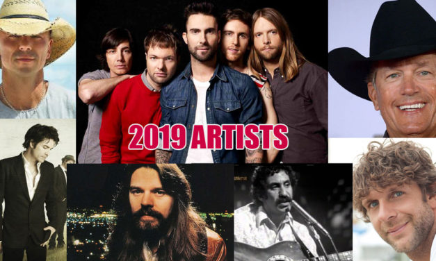 Chris Doelle's 2019 Top Artists
